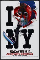 Friday the 13th Part VIII: Jason Takes Manhattan - Advance movie poster (xs thumbnail)