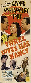 Three Loves Has Nancy - Movie Poster (xs thumbnail)