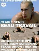 Beau travail - Movie Poster (xs thumbnail)