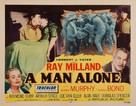A Man Alone - Movie Poster (xs thumbnail)