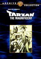 Tarzan the Magnificent - DVD cover (xs thumbnail)