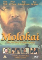 Molokai: The Story of Father Damien - British DVD cover (xs thumbnail)