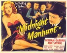 Midnight Manhunt - Movie Poster (xs thumbnail)