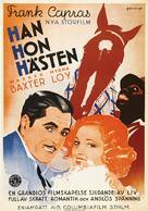 Broadway Bill - Swedish Movie Poster (xs thumbnail)