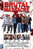 Brutal Massacre: A Comedy - Movie Poster (xs thumbnail)