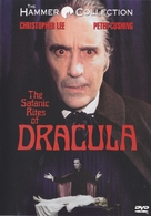 The Satanic Rites of Dracula - DVD cover (xs thumbnail)
