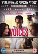 The Voices - British DVD movie cover (xs thumbnail)