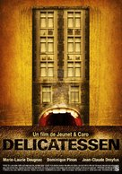 Delicatessen - Spanish Movie Poster (xs thumbnail)