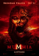 The Mummy: Tomb of the Dragon Emperor - Italian Movie Poster (xs thumbnail)