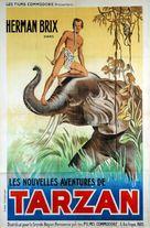 The New Adventures of Tarzan - French Movie Poster (xs thumbnail)