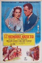 The Quiet Man - Argentinian Movie Poster (xs thumbnail)