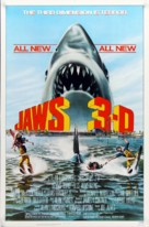 Jaws 3D - Movie Poster (xs thumbnail)