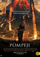Pompeii - Hungarian Movie Poster (xs thumbnail)