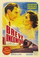 Brief Encounter - Italian Movie Poster (xs thumbnail)