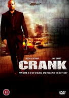 Crank - Danish Movie Cover (xs thumbnail)
