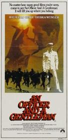 An Officer and a Gentleman - Australian Movie Poster (xs thumbnail)