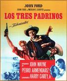 3 Godfathers - Spanish Movie Poster (xs thumbnail)