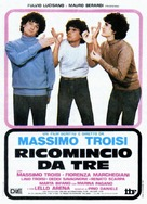 Ricomincio da tre - Italian Movie Poster (xs thumbnail)