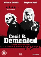 Cecil B. DeMented - British DVD cover (xs thumbnail)