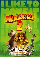 Madagascar: Escape 2 Africa - French Movie Poster (xs thumbnail)