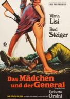 La ragazza e il generale - German Movie Poster (xs thumbnail)