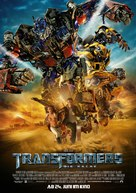 Transformers: Revenge of the Fallen - German Movie Poster (xs thumbnail)