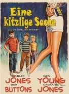 A Ticklish Affair - German Movie Poster (xs thumbnail)
