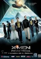 X-Men: First Class - Czech Movie Poster (xs thumbnail)