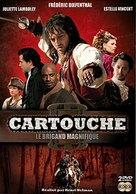 Cartouche, le brigand magnifique - French DVD cover (xs thumbnail)