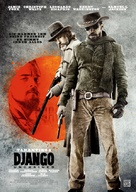 Django Unchained - German Movie Poster (xs thumbnail)