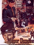 Major Dundee - German Movie Poster (xs thumbnail)