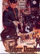 Major Dundee - German Movie Poster (xs thumbnail)