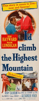 I'd Climb the Highest Mountain - Movie Poster (xs thumbnail)