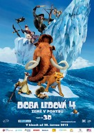 Ice Age: Continental Drift - Czech Movie Poster (xs thumbnail)