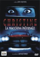 Christine - Italian DVD cover (xs thumbnail)