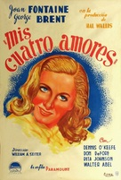 The Affairs of Susan - Argentinian Movie Poster (xs thumbnail)