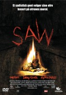 Saw - Norwegian DVD movie cover (xs thumbnail)
