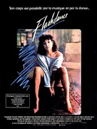 Flashdance - French Movie Poster (xs thumbnail)