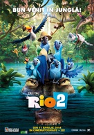 Rio 2 - Romanian Movie Poster (xs thumbnail)