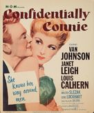 Confidentially Connie - Movie Poster (xs thumbnail)