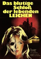 La rose écorchée - German Movie Poster (xs thumbnail)