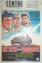 Un taxi pour Tobrouk - Belgian Movie Poster (xs thumbnail)