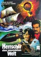 Isla misteriosa y el capitán Nemo, La - German Movie Poster (xs thumbnail)