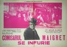 Maigret voit rouge - Romanian Movie Poster (xs thumbnail)