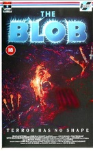 The Blob - British VHS movie cover (xs thumbnail)