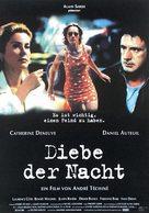 Les voleurs - German Movie Poster (xs thumbnail)