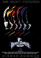 Mighty Morphin Power Rangers: The Movie - German Movie Poster (xs thumbnail)