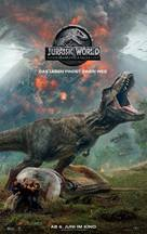 Jurassic World Fallen Kingdom - Swiss Movie Poster (xs thumbnail)