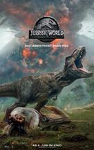 Jurassic World: Fallen Kingdom - Swiss Movie Poster (xs thumbnail)