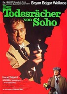 Der Todesrächer von Soho - German Movie Poster (xs thumbnail)
